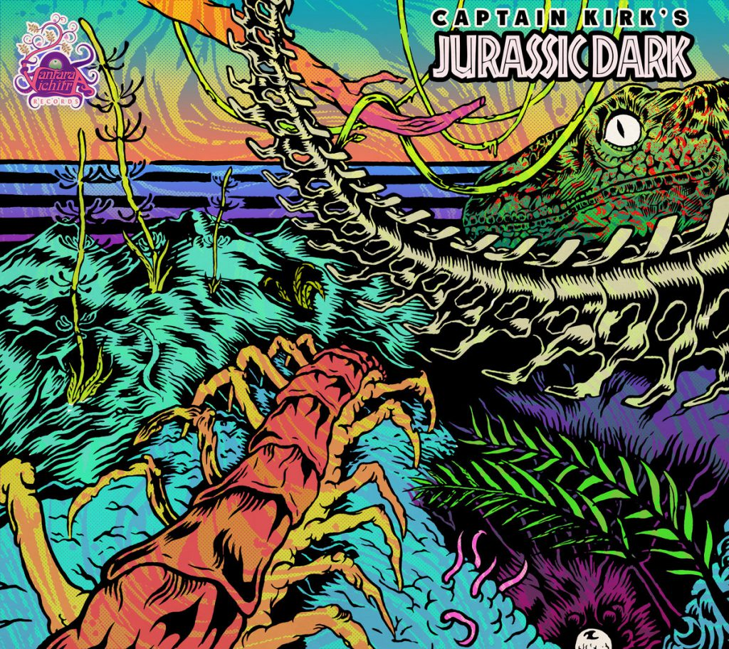 Captain Kirk - Jurassic Dark (Vantara Vichitra Records)